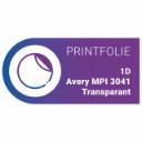 1D Avery MPI 3041 | Transparant
