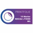 1D Mactac MACdot JT8300 | Wit