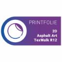 2D AsphaltArt TexWalk R12 | Wit